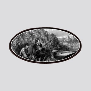 Wild duck shooting - on the wing - 1870 Patch
