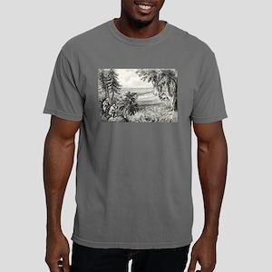 Wild turkey shooting - 1871 Mens Comfort Colors Sh