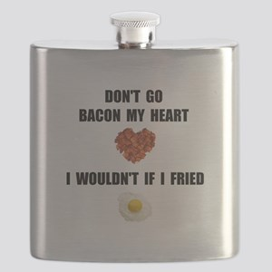 Bacon My Heart Flask