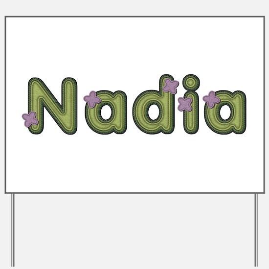Nadia Spring Green Yard Sign