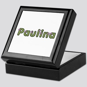 Paulina Spring Green Keepsake Box