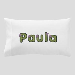 Paula Spring Green Pillow Case