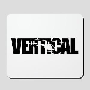 Vertical Black R22 Mousepad