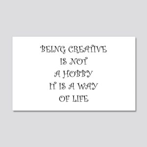 Being Creative Wall Decal