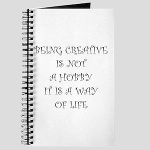 Being Creative Journal