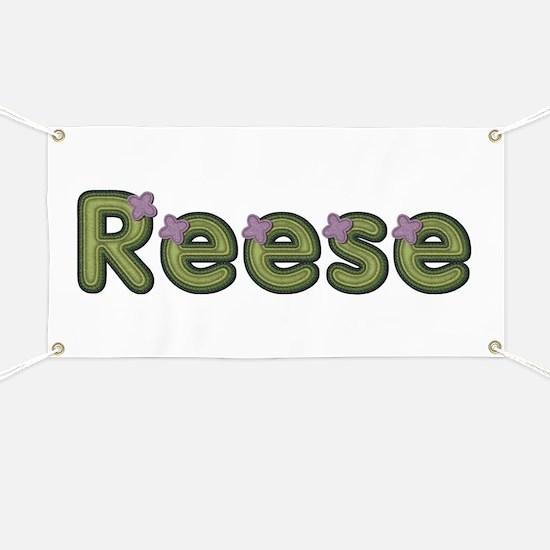 Reese Spring Green Banner