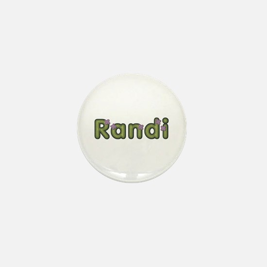 Randi Spring Green Mini Button
