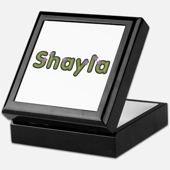 Shayla Spring Green Keepsake Box