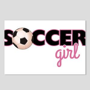 Soccer Girl Postcards (Package of 8)