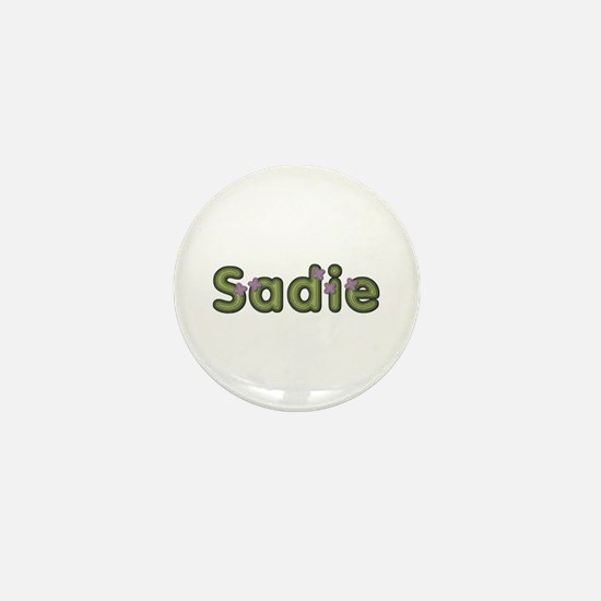 Sadie Spring Green Mini Button