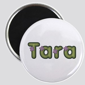 Tara Spring Green Round Magnet