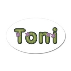 Toni Spring Green Wall Decal
