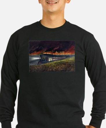Prairie fires of the great west - 1872 T
