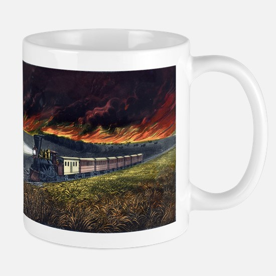 Prairie fires of the great west - 1872 Mug