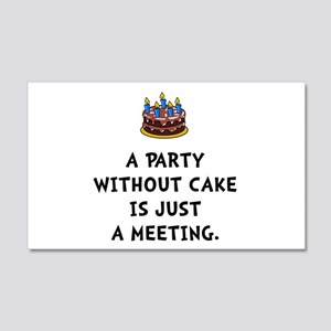 Cake Meeting Wall Decal