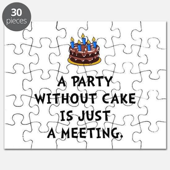 Cake Meeting Puzzle