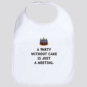 Cake Meeting Bib