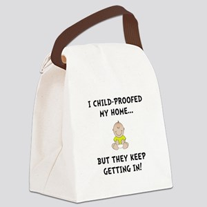 Child Proofed Canvas Lunch Bag