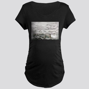 The great west - 1870 Maternity Dark T-Shirt