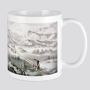 The great west - 1870 11 oz Ceramic Mug