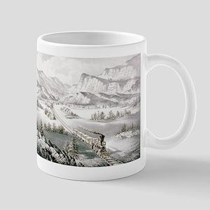 The great west - 1870 11 oz Ceramic Mug