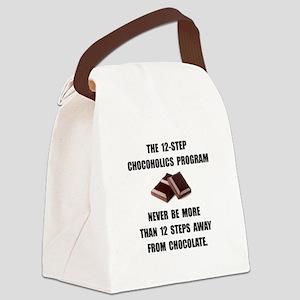 Chocoholics Program Canvas Lunch Bag