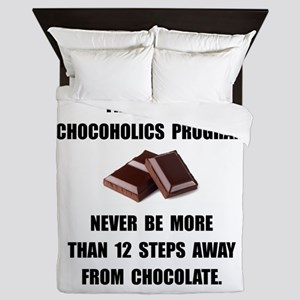Chocoholics Program Queen Duvet