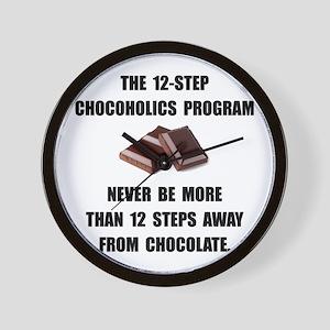 Chocoholics Program Wall Clock
