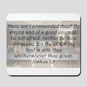 Joshua 1-9 Mousepad