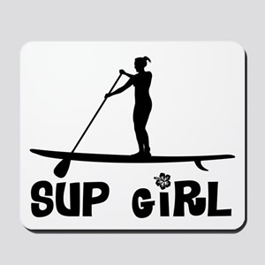 SUP_Girl-b Mousepad