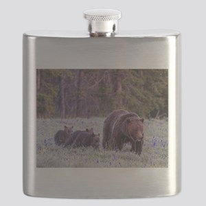 Grizzly Bear 399 Flask
