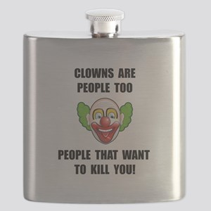 Clown Kill Flask