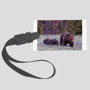 Grizzly Bear 399 Luggage Tag