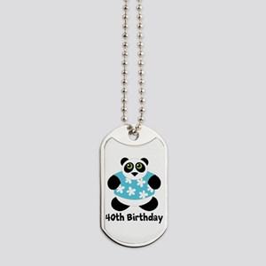 Personalized Panda Birthday Dog Tags