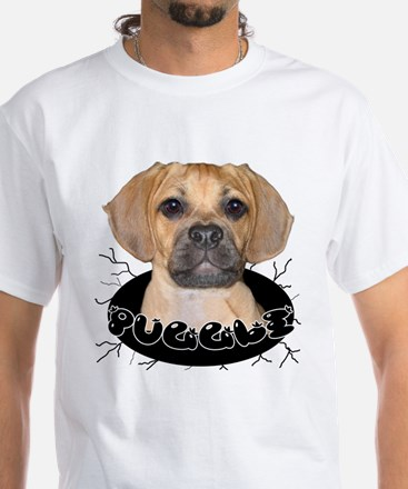 PUGGLE White T-Shirt
