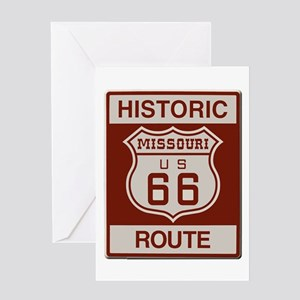 Missouri Historic Route 66 Greeting Card