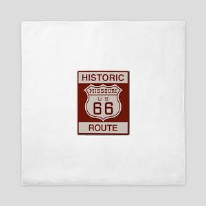Missouri Historic Route 66 Queen Duvet