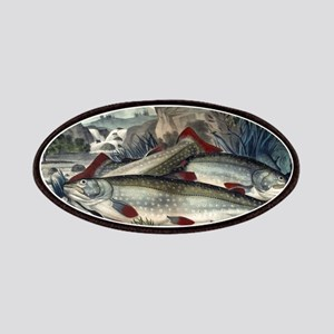 Brook trout--just caught - 1907 Patch