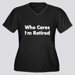 WHO CARES Plus Size T-Shirt