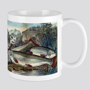 Brook trout--just caught - 1907 11 oz Ceramic Mug