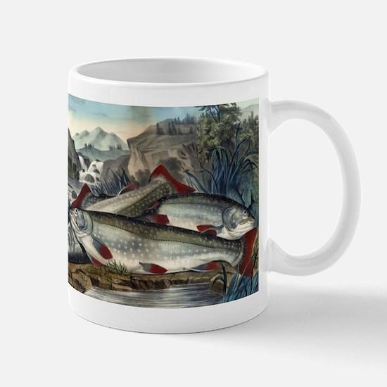 Brook trout--just caught - 1907 Mug
