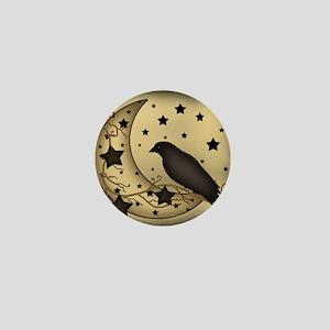 Starlight crow Mini Button