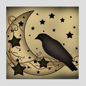 Starlight crow Tile Coaster