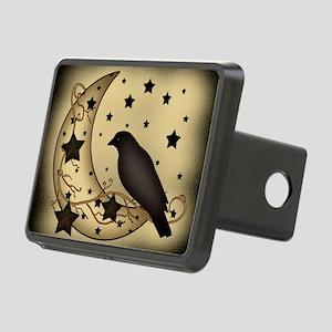 Starlight crow Rectangular Hitch Cover