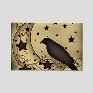 Starlight crow Rectangle Magnet