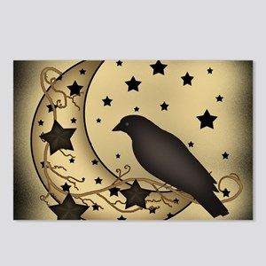 Starlight crow Postcards (Package of 8)