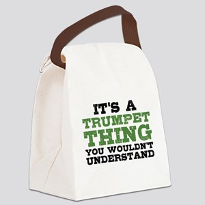 It's a Trumpet Thing Canvas Lunch Bag
