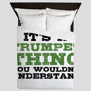 It's a Trumpet Thing Queen Duvet