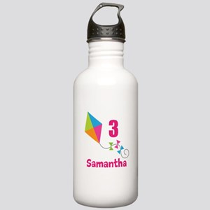 Personalized Birthday Kite Stainless Water Bottle