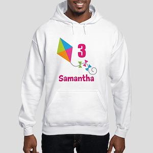 Personalized Birthday Kite Hooded Sweatshirt